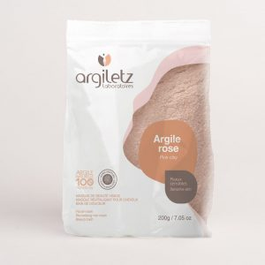 argile rose naturelle