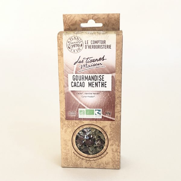 infusion cacao menthe bio